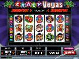 machines à sous gratuites Crazy Vegas RealTimeGaming