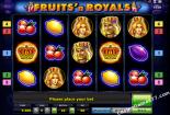 machines à sous gratuites Fruits and Royals Novomatic