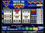 machines à sous gratuites Wild 7s iSoftBet